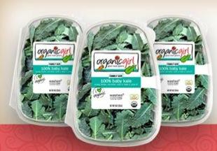 Free Organicgirl's 100% Baby Kale  (apply, Mom Ambassadors)