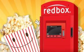Free RedBox DVD Rental (text)