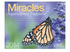 Free 2014 Miracles Inspirational Calendar