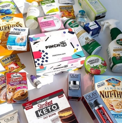 Free Product Samples from PINCHme