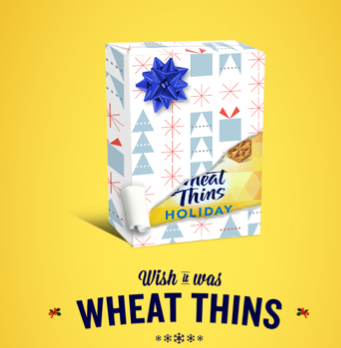 Free Box Of Holiday Wheat Thins (twitter)