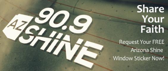 Free Arizona Shine Window Sticker