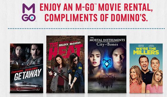3 Free M-GO Movie Rentals