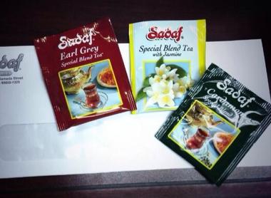 Free Sample Of Sadaf's Special Blend Teas (twitter)