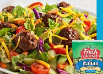 Fresh Express Salad Swap Party (Mom Ambassadors)