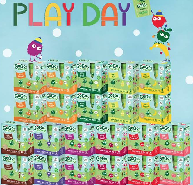 Free 4-pack Of GoGo SqueeZ