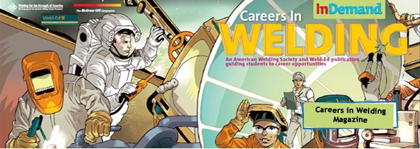 Free Careers in Welding Magazine, Comic Book And DVD