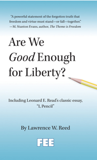 Free Book: Are We Good Enough For Liberty?