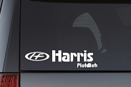 Free Harris FloteBote Decal