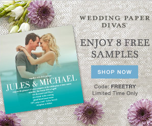 8 Free Stationery Samples From Wedding Paper Divas (Free S/H)