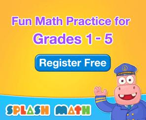 Splash Math For Kids (Grades 1-5)