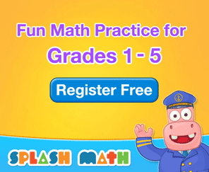 Splash Math For Kids (Grades 1-5)