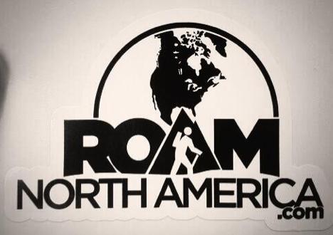 Free Roam North America Sticker