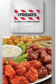Free $15 TGI Fridays Gift Card (first 500, Twitter)