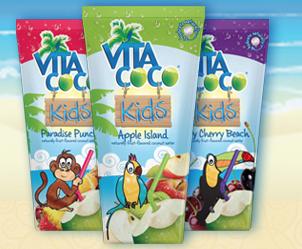 Free Vita Coco Kids Coconut Water (Apply, Mom Ambassadors)