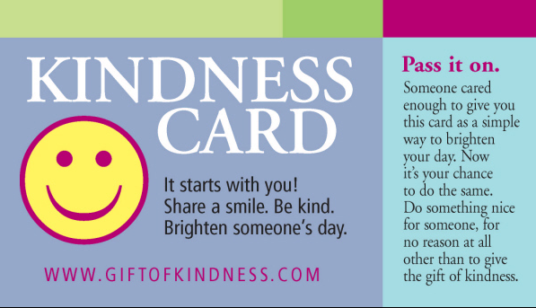 Free Kindness and Thank You Cards