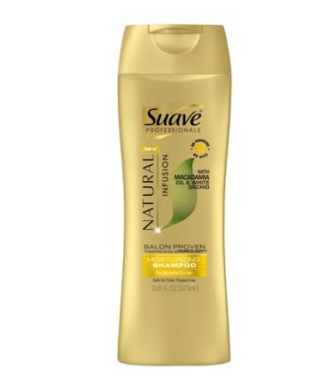 Free Suave Professionals Natural Infusion Moisturizing Shampoo at Target