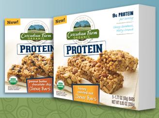 Free Cascadian Farm Protein Bars (Apply, Mom Ambassadors)
