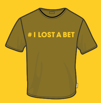 Free I Lost A Bet T-Shirt