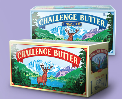 Free Challenge Butter and Cream Cheese (fb, 1st 100 at 3 pm ET)