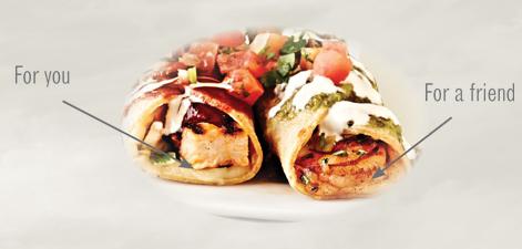 Free Enchiladas at Rubio's