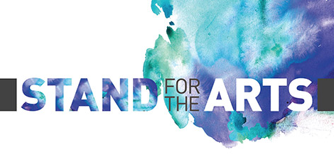 Free I Stand for the Arts Sticker