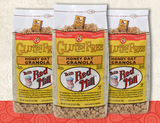 Free Bob's Red Mill Gluten Free Granola (Apply, Mom Ambassadors)