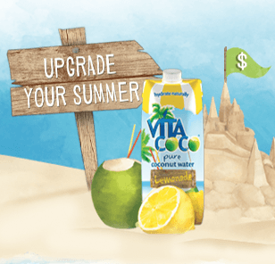 Free Vita Coco Lemonade (fb)