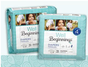 Free Well Beginnings Diapers and Wipes (Apply, Mom Ambassadors)