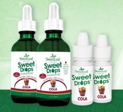 Free SweetLeaf Sweet Drops Cola (Apply, Mom Ambassadors)