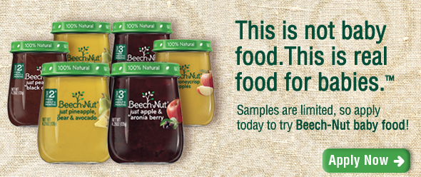 Free Beech-Nut Baby Food (Apply, Mom Ambassadors)