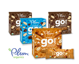 Free Plum Organics Go Bars (Apply, Mom Ambassadors)
