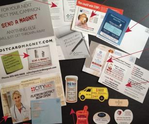 Free Postcard Magnet Sample Kit