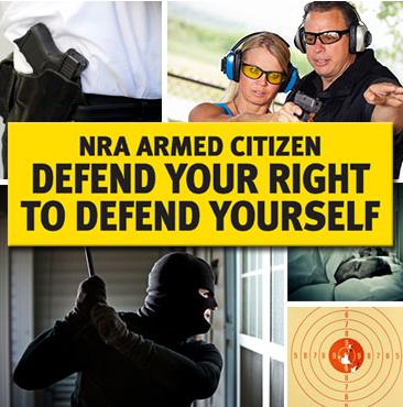 FREE NRA Armed Citizen Bumper Sticker