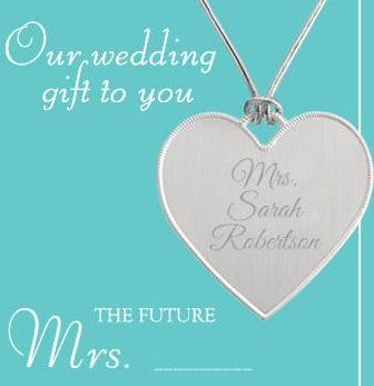 Free Personalized Keepsake Heart at Things Remembered