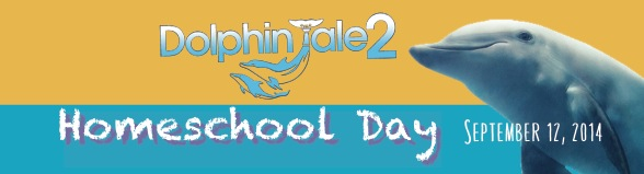 Free Dolphin Tale 2 Homeschool Day 2014 Stickers (1st 1,000)