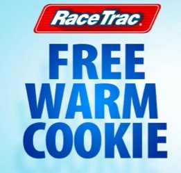 Free Warm Cookie at RaceTrac