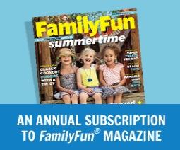 Free Subscription to FamilyFun Magazine (1st 5,000)