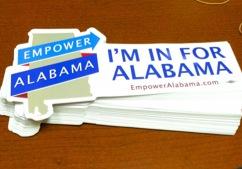 Free Empower Alabama Bumper Sticker