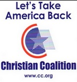 Free Christian Coalition Window Decal