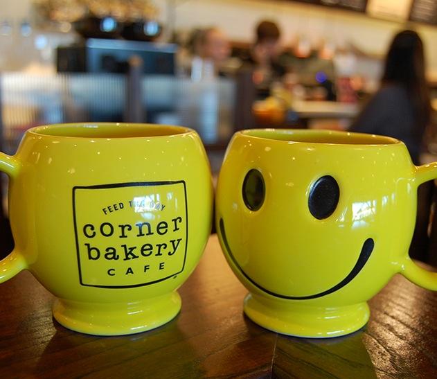 2 Free Smiley Mugs at Corner Bakery Cafe (10/3)