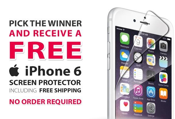 Free iPhone 6 Screen Protector