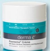 Free Derma E Psorzema Creme Sample (fb, 1st 1,000)
