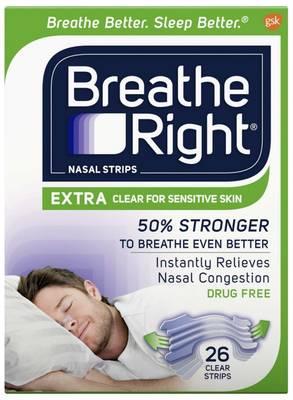 Free Breathe Right Nasal Strips Sample