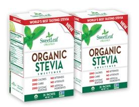 Free SweetLeaf Organic Stevia Sweetener (Apply, Mom Ambassadors)