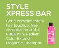 Free Redken Shampoo at JCPenney Salon