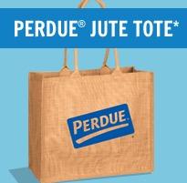 Free Perdue Jute Tote (1st 2,990)