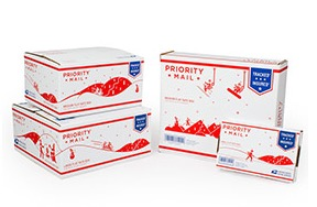 Free USPS Priority Mail Holiday Boxes and Other Shipping Supplies