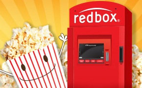 Free RedBox DVD Movie Rental (text)