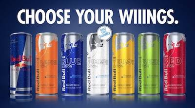 Free Can of Red Bull Energy Drink at 7-Eleven
